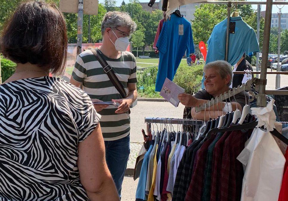 Besuch auf dem Genter Wochenmarkt
