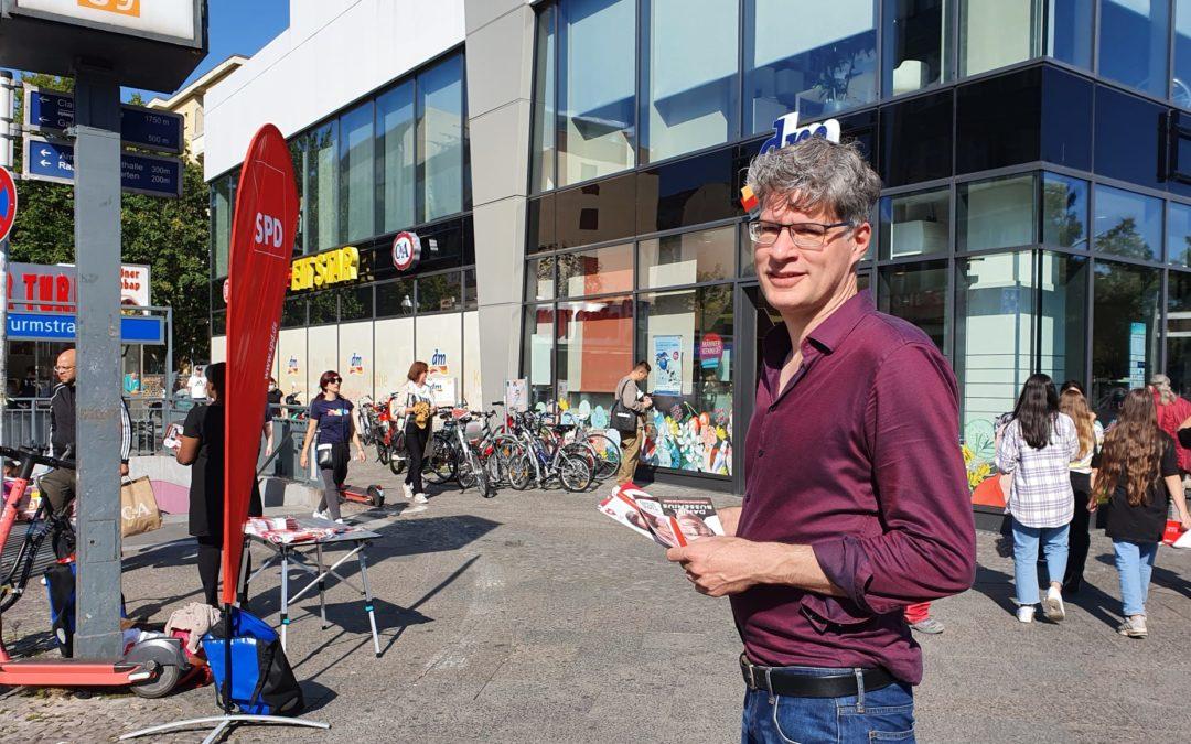 Info-Stand U Turmstraße